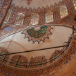 Ceiling with islamic patterns — Stock Photo