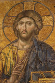 Mosaic of Jesus Christ at Hagia Sofia — ストック写真