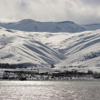 Stock Photo: Lake Vin winter, eastern Turkey