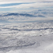 Winter panoramic image from Mount Ararat — Stock Photo #1174434