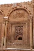 Window of Ishak Pasha Palace, Eastern Tu — Stock Photo