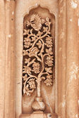 Floral carving on Ishak Pasha Palace, Tu — Stock Photo