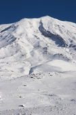 Closeup photo of Mount Ararat in winter — Stock Photo
