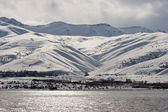 Lake Van in winter, eastern Turkey — ストック写真