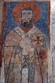 Icon in armenian church at Akdamar, Turk — Stock Photo