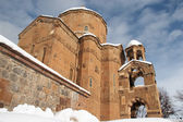 Arménské církve v akdamar, turecko — Stock fotografie