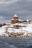 Armenian church at Akdamar Island, Turke — Stock Photo