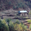 Nepalese house, Everest region, Himalaya — Stock Photo
