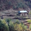 Stock Photo: Nepalese house, Everest region, Himalaya