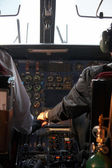 Inside of a plane flying to Lukla, Nepal — Stock Photo