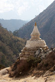 Eski budist stupa tibet, himalayalar, — Stok fotoğraf