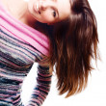 młoda kobieta szczęśliwy uroda — Zdjęcie stockowe