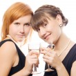 Royalty-Free Stock Photo: Happy women on the party