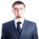 Strict serious business man — Stock Photo