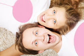 Portrait of beauty young couple — Stock Photo