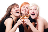 Happy hen-party — Stock Photo