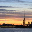 Peter and Paul fortress — Stockfoto