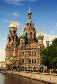 The Church of the Savior on Spilled Bloo — Stock Photo