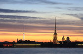 Peter and Paul fortress — Foto Stock