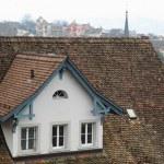 Zurich rooftop — Stock Photo