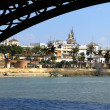 Stock Photo: Sevilla, River Guadalquivir