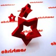 Stock Photo: Christmas design of star