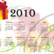 Calendar 2010 - Vettoriali Stock 