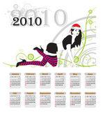 Calendar 2010 — Stock Vector