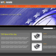 Vector de stock : Vector web template