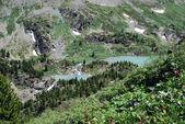 Альпийские озера — Стоковое фото