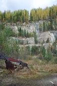 Pedreira de talco negligenciadas — Foto Stock