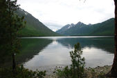 Lac alpin — Photo