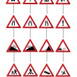 Road traffic signs — Stock Vector