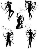 Little fairy — Stock Vector