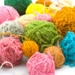 Balls of threads - Stock Photo
