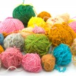 Balls of threads — Stock Photo