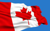 Canadian Flag. — Stock Photo