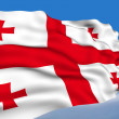 GeorgiFlag. — Stock Photo #1206244