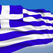 Greek Flag. — Stock Photo