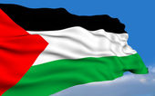 Palestinian Flag. — Stock Photo