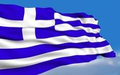Greek Flag. — Stock Photo