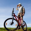 Mountain biker. — Stock Photo #1254986