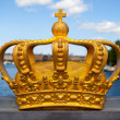 Stock Photo: Royal crown in Stockholm.