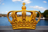 Royal crown in Stockholm. — Stock Photo