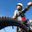 Mountain biker — Stock Photo #1354617