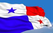 Panamanian flag — Stock Photo