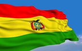Bolivian flag — Stock Photo
