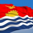 Kiribati flag — Stock Photo