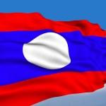 Laotian flag — Stock Photo #1570527