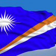 Marshallese flag — Stock Photo